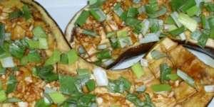 蒜香烤茄子用料和做法步骤